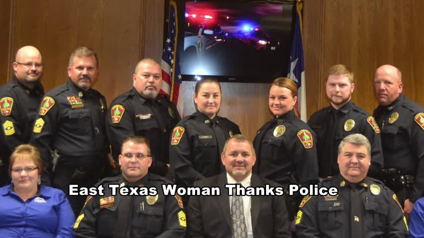 VIRAL- Woman thanks police department_93973995-159532