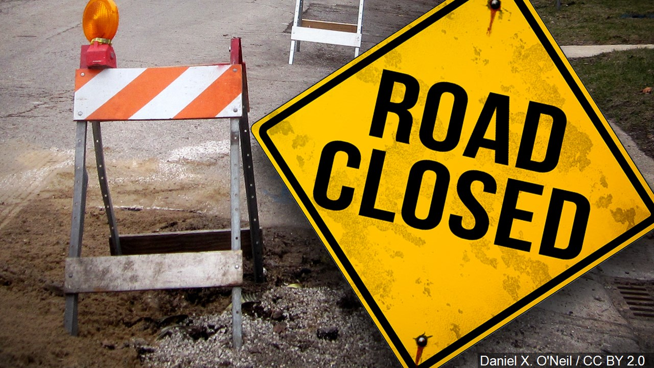 ROAD CLOSED PIC MGN
