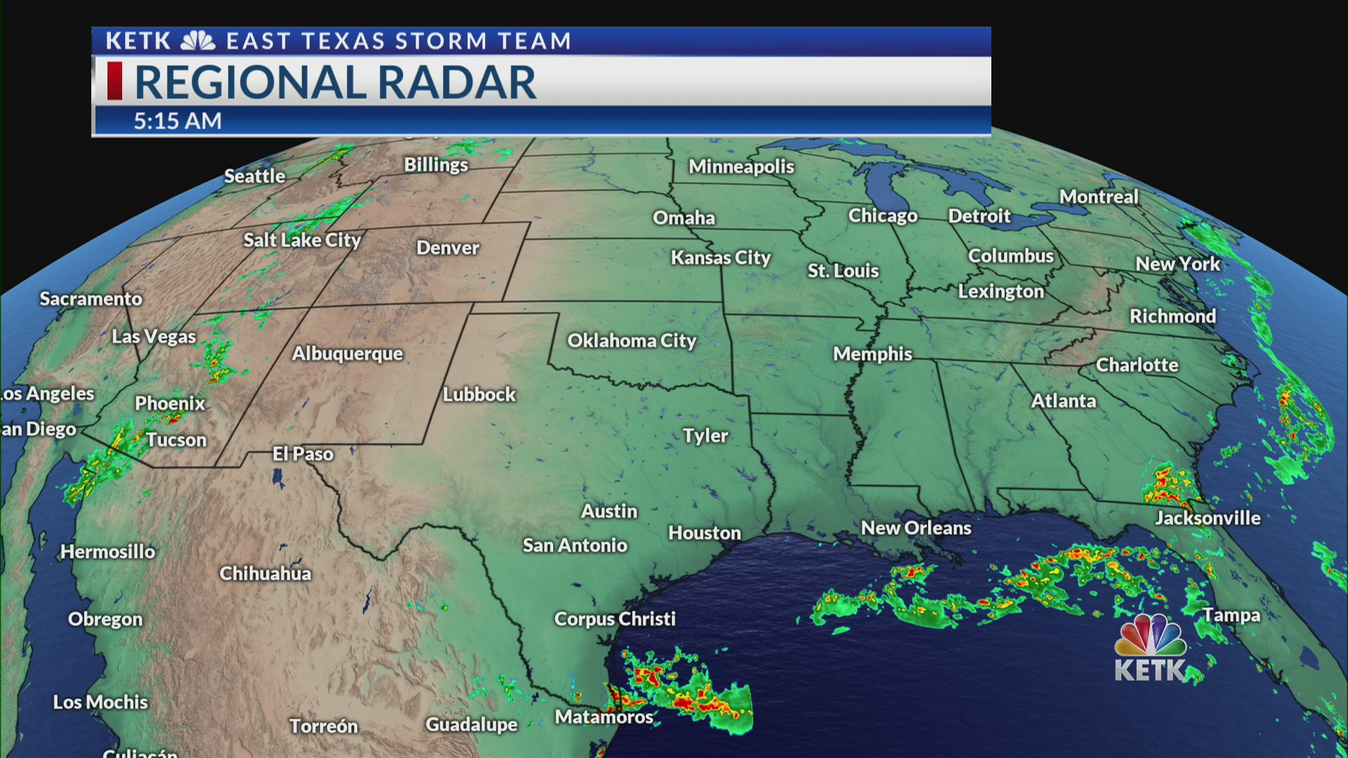 Wednesday Night Forecast: Storms increasing overnight, cold front