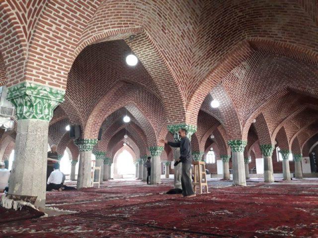 Iran Tabriz džamija 63 stuba