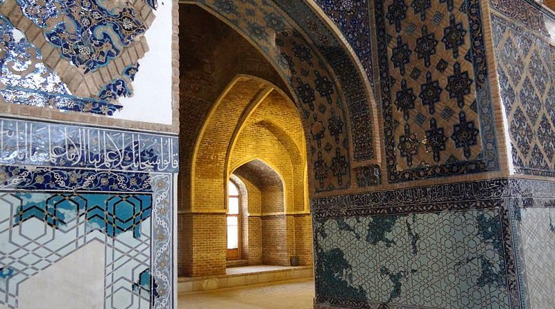 tabriz blue mosque