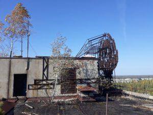 Pripjat krov zgrade