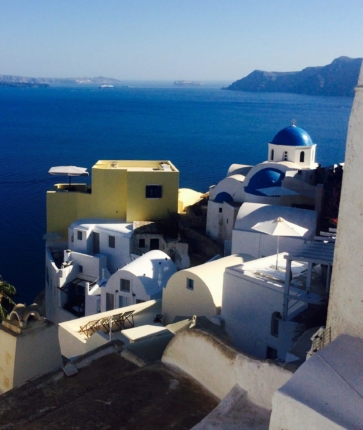 what to do in santorini views