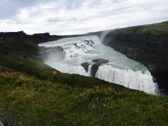 6 day iceland itinerary gulfoss waterfall iceland