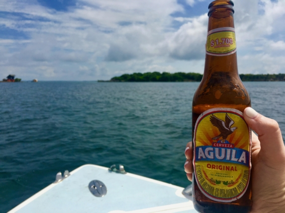 aguila beer 4 days in cartagena colombia