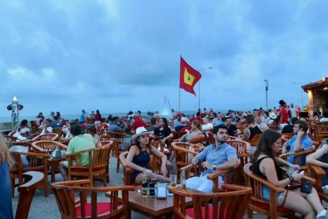 cafe del mar 4 days in cartagena