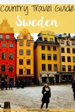 sweden travel guide pinterest