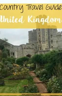 united kingdom travel guide pinterest