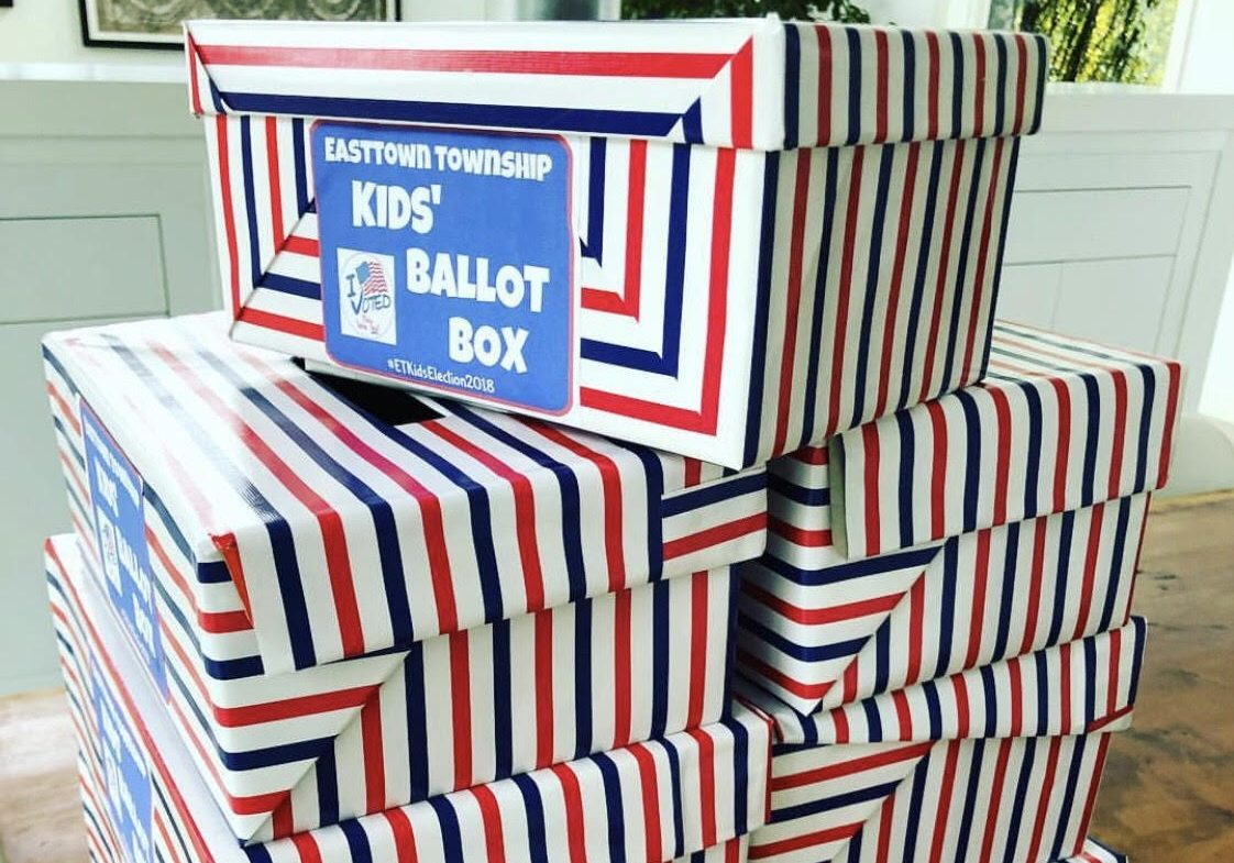 It's A Family Affair – Easttown Kids Vote in Recent November Election!