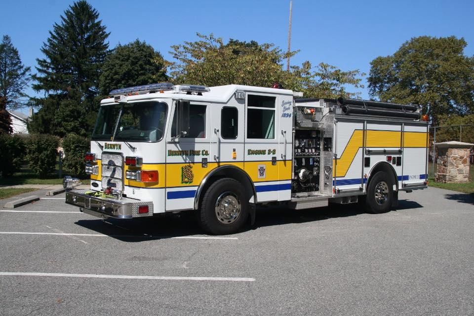 berwyn fire truck