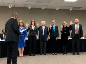 Congratulations As New TE School Board Members Sworn In