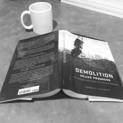 """""""Demolition Means Progress"""" Community Book Read and discussion kicks off Sept. 29"""