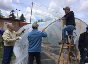 Windy work day yields hopeful results at Pierce Creative Arts Elementary