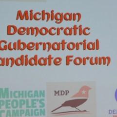 Democratic candidates for governor address Flint issues at UM-Flint forum