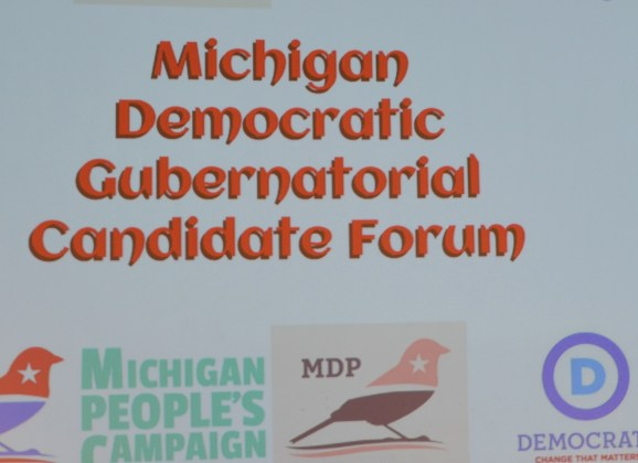 Democratic candidates for governor address Flint issues at UM-Flint forum
