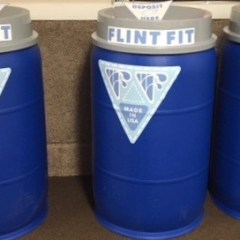 """Flint Fit"" project to combine water bottles, art, fashion and jobs"
