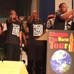 "Review:  John P. Kee's ""Change the World Tour"" wows at Harris Memorial"
