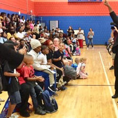 Riders help Doyle/Ryder students roar into the school year