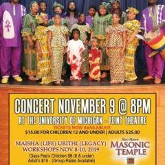 Kuungana concert features international dancers, drummers 8 p.m. Saturday