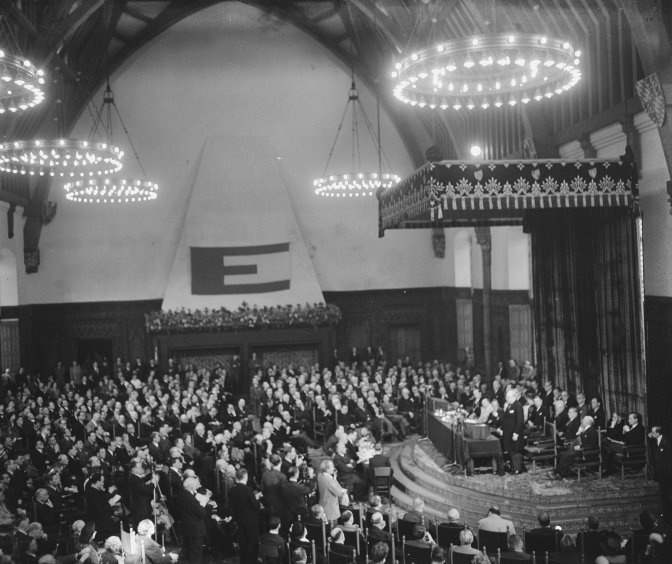 Congress of Europe, The Hague, 8 May 1948 © Nationaal Archief