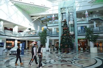 Erbil's Family Mall is safe enough to celebrate Christmas