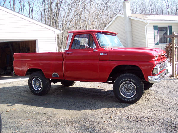 My Project 1965 K10 Chevy Truck