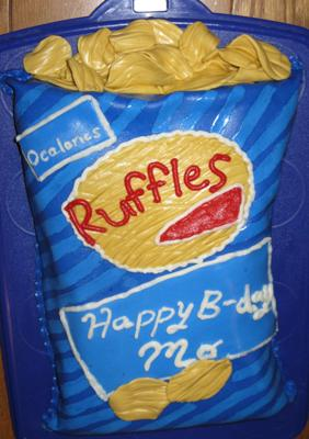 Bag Of Ruffles Potato Chips Cake