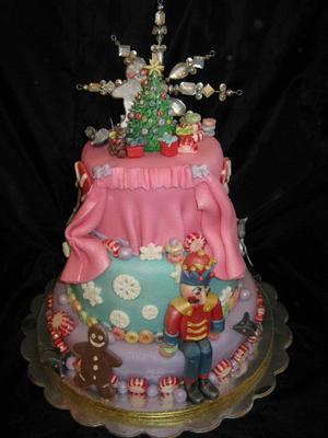 The Nutcracker Christmas Cake