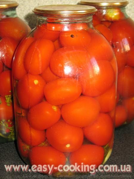 Рецепт консервування помідорів