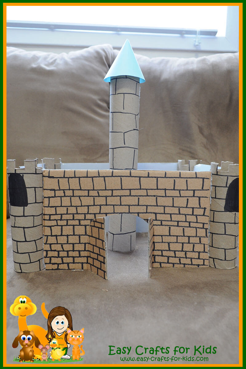 Medieval Crafts For Kids Your Very Own Castle Out Of Cardboard