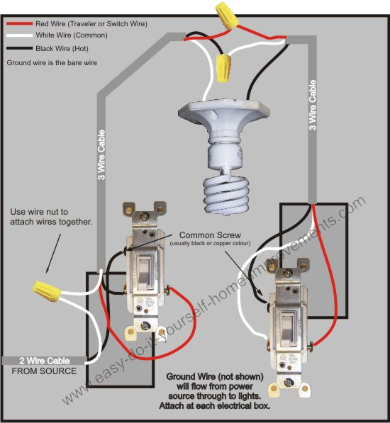 wiring diagram for three way light switch wiring diagram 3 way switch wiring diagram