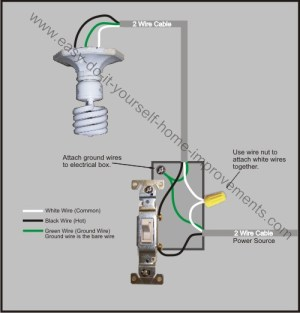 Light Switch Wiring Diagram