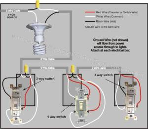 4 Way Switch Wiring Diagram