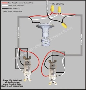 3 Way Switch Wiring Diagram