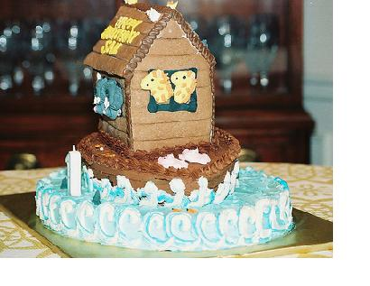 Noahs Ark Cake Ideas