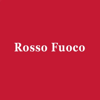 Page simple martelée Rosso Fuoco