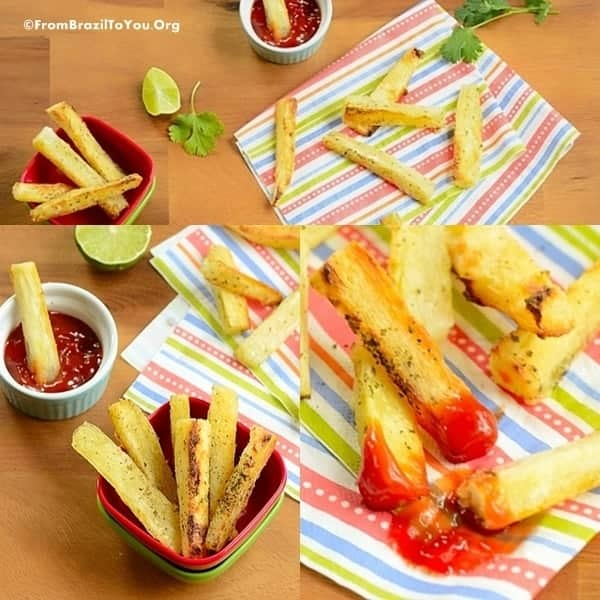 Healthy Yuca Fries -- Loaded with flavor without expanding your waist line.