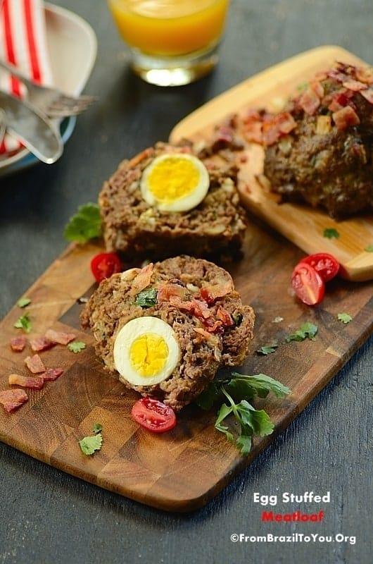 Egg Stuffed Meatloaf