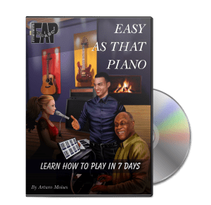 Easy As That Piano DVD