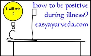 how to be positive during illness