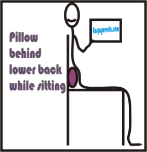 Tips on how to sit straight