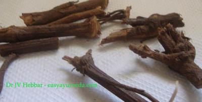 Leadwort root