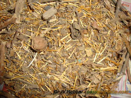 Kantakari dry sample