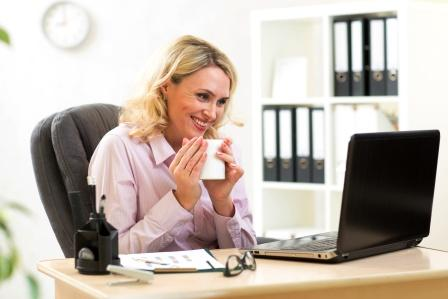 Middle aged working women