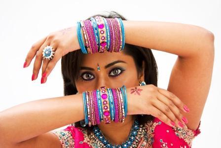 Indian woman with Bindi