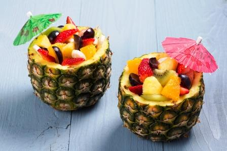 fruit with meals