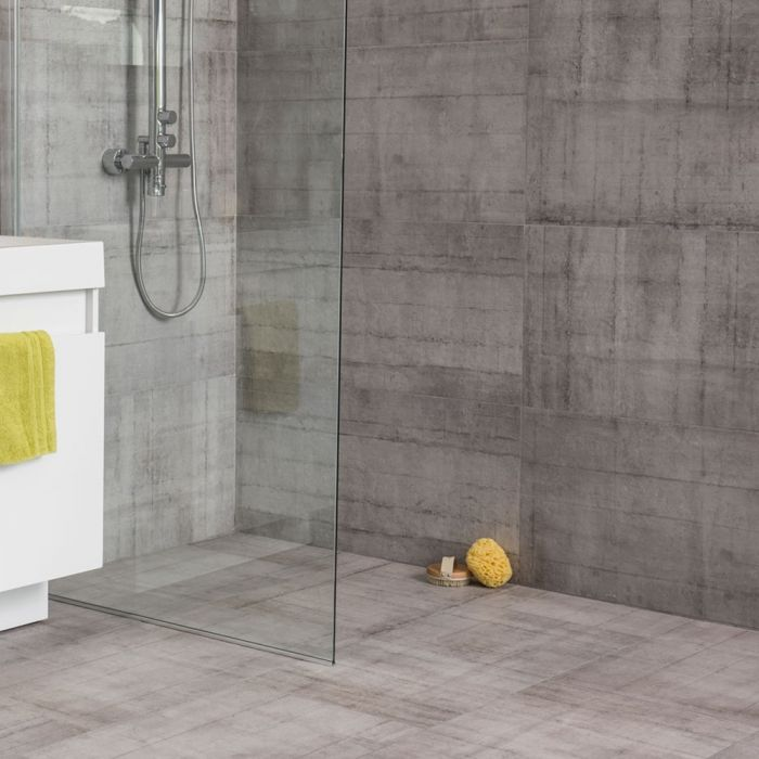 firmo cement grey rectified porcelain tile 900mm x 450mm