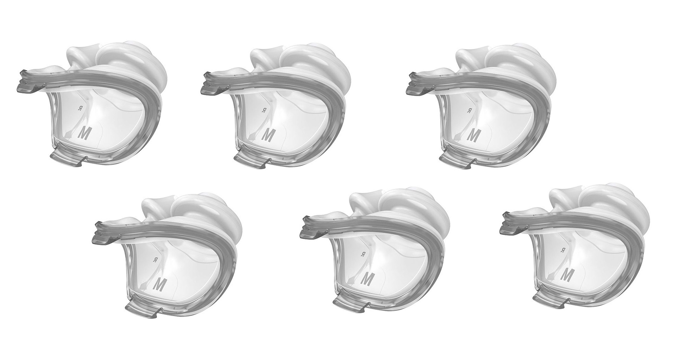 airfit p10 replacement nasal pillow 6 pack