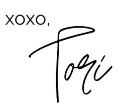 xoxo, Tori