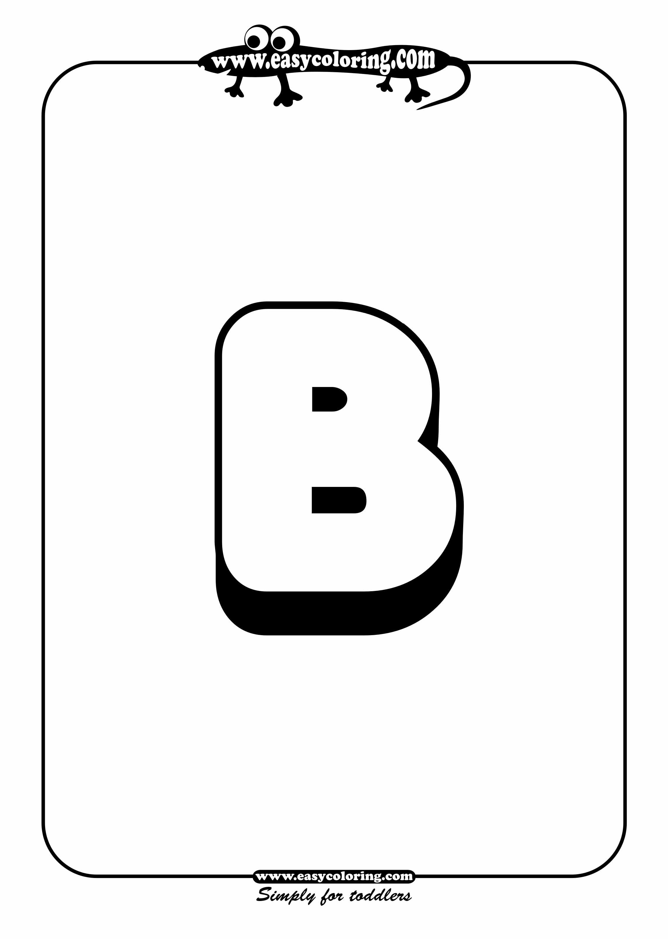 Big Letter B
